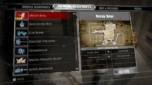 Decoy Bear Blueprints