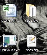 Creating reskins unpacking npcs big