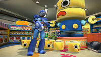 Dead rising childs play megaman full outfit