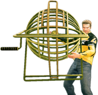 Dead rising bingo ball cage holding