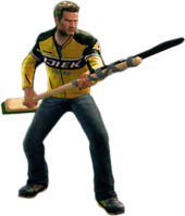Dead rising pole weapon holding