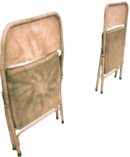 Dead rising folding chairs damaged and undamaged