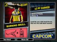 Dead rising 2 combo card Burning Skull
