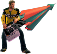 Dead rising parablower holding