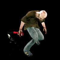 Dead rising dynameat zombie in hand