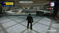 Dead rising empty areas mean there are bosses usually