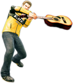 Dead rising acoustic guitar combo