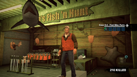 Dead rising 2 case 0 bob's fish n hunt shark