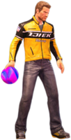 Dead rising bowling ball holding