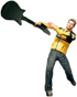 Dead rising electric guitar combo