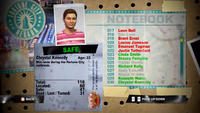 Dead Rising chrystal notebook
