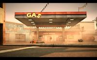 Brockett Gas Station
