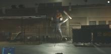 Lightspeed Guy statue in episode 6