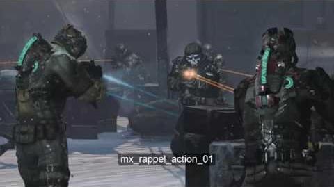 Dead Space 3 - Rappeling down to Alien City Theme