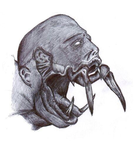 File:Necromorph head by synthomniac-d3iibrf.jpg