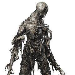 Концепт-арт мумифицированного Блевуна в Dead Space 3.