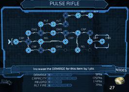 Pulse rifle bench 22