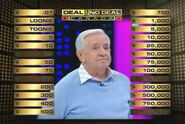 Deal or No Deal Canadian Contestant Board