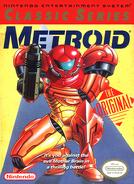 Metroid - Samus Aran as she appears on the Nintendo Classis Series Front Box Art