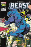 Marvel Comics - Beast as seen on the front art comic cover