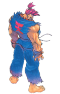 Street Fighter - Akuma as he appears in the Console version of Super Street Fighter II Turbo