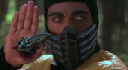 Mortal Kombat - Scorpion as seen in the Mortal Kombat Movie