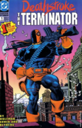 DC Comics - Deathstroke as seen in his first comic book issue