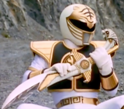 Power Rangers - Tommy Oliver talking to Saba
