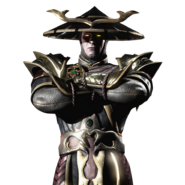 Mortal Kombat - Raiden as he has fallen corrupt and converts to The Dark Side