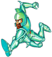Ghosts 'n Goblins - Sir Arthur wearing Bronze Armor