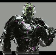 Brainiac injustice 2 render by yukizm-daxlybk