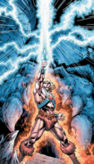 Masters of The Universe - He-Man rising his sword as seen in the comics
