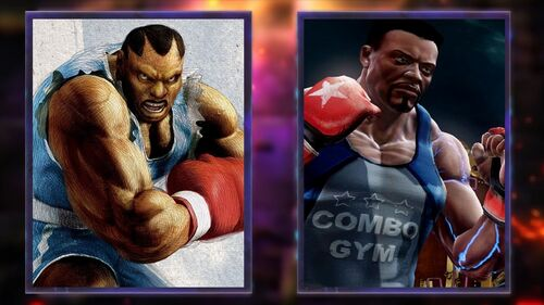 Balrog and TJ Combo are ready