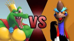 King K Rool vs Boss Cass