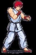 Street Fighter - Ryu's original artwork