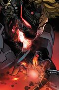 Hank Pym merged with Ultron