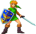 The Legend of Zelda - Link as he appears in A Link to The Past