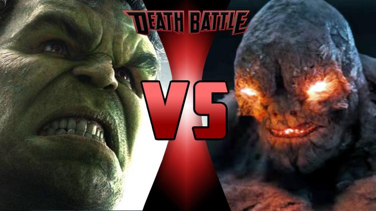 MCU Hulk vs DCCU Doomsday | Death Battle Fanon Wiki ... Doomsday Vs Hulk Death Battle