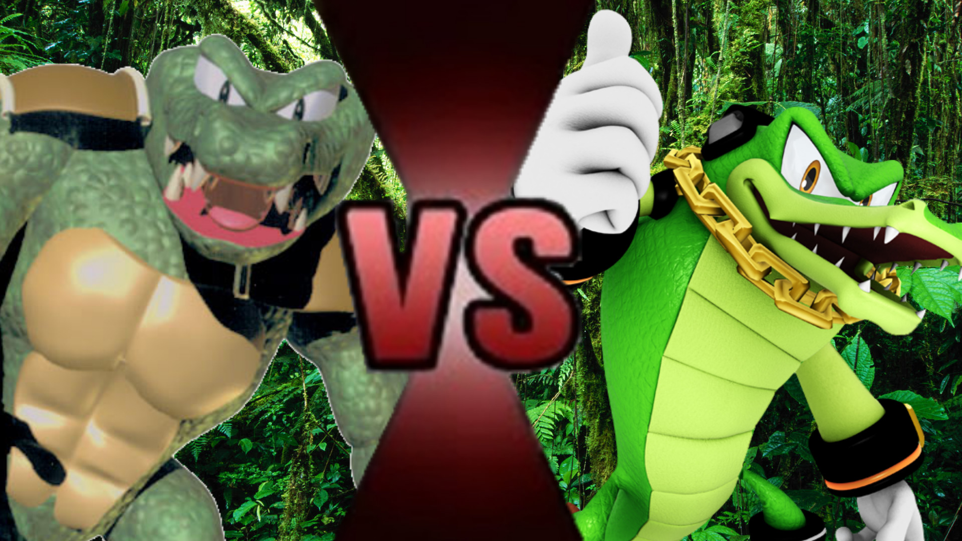 Vector The Crocodile Vs Kritter Death Battle Fanon Wiki