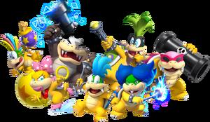 Koopalings, New Super Mario Bros. U