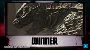 Gojira wins