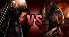 Nemesis vs pyramid head