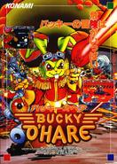 Bucky O'Hair - Bucky O'Hair Arcade Flyer