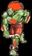 Street Fighter - Blanka as seen in Street Fighter II