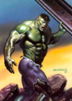 Marvel Comics - The Hulk as animated by Boris