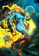 Metroid-samus-aran-by genzoman