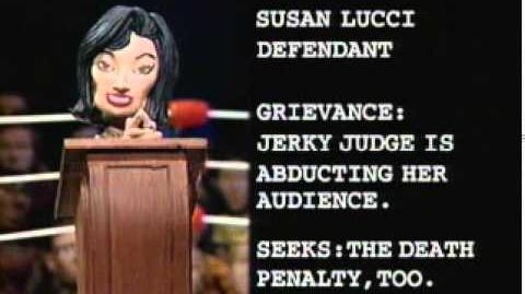 Celebrity Deathmatch - Judge Judy vs Susan Lucci