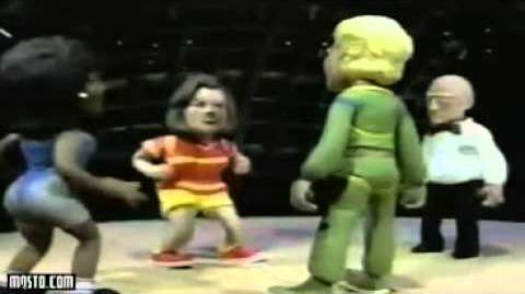 Celebrity Deathmatch Rosie, Oprah vs Jerry Springer