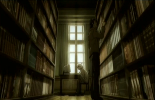 File:Near in the Wammy House library.png