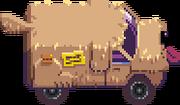 Vehicle Dog Van